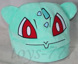 793bff24fa8 Pokemon Venusaur Hat Cap Game Cartoon Ivysaur Hats Bulbasaur soft ...