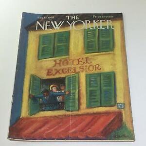 The-New-Yorker-August-15-1959-Full-Magazine-Theme-Cover-Beatrice-Szanton