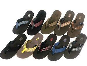 Teva-Men-039-s-4168-Mush-II-Sandals-Flip-Flops-Thongs-Multiple-Colors-Sizes