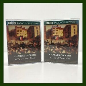 BBC-Charles-Dickens-A-Tale-of-Two-Cities-Audio-Book-Cassettes-Vintage-Retro-Old