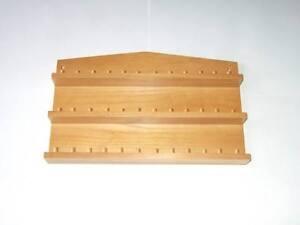 36pc-Wooden-Thimble-Display-Rack-Pine-huge-range-see-description