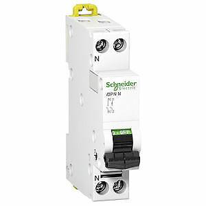 Schneider Electric Commutateur De Protection De Ligne idpn a9n17518 1p+n en 1te,