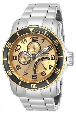 Invicta Pro Diver Men's Stainless Steel Multi Function Date Quartz Watch IN15337