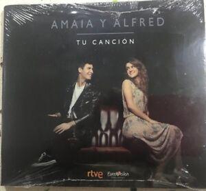 AMAIA-Y-ALFRED-TU-CANCION-DIGIPACK-CD-SINGLE-NUEVO-PRECINTO-CONTEST-2018-OT-RTVE
