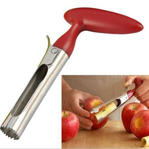 Apple Corer Peeler Stainless Steel Core Remover Kitchen Fruit Pip Pear RF