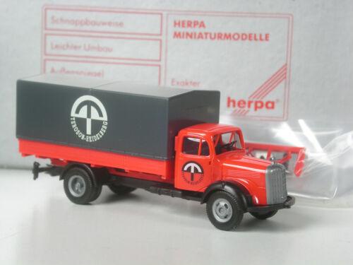 TOP Herpa Exclusiv Mercedes LKW Veteran Teroson Heidelberg in OVP