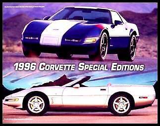 1996 Corvette Special Edition Brochure Grand Sport