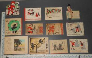 Vintage-1930-039-s-Christmas-Card-Lot