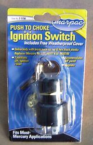 ignition key switch push to choke mercury outboard off on start mercury outboard ignition wiring image is loading ignition key switch push to choke mercury outboard