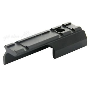 "Scope Barrel Mount 1/""// 35-36mm Ring Adapter 20mm Weaver Picatinny Rail Rifle"