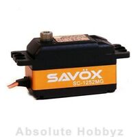 Savox Low Profile Super Speed Metal Gear Digital Servo - Sav-sc-1252mg