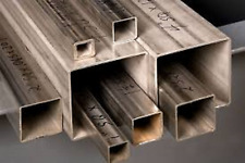 Alloy 304 Stainless Steel Square Tube 2 X 4 X 14 X 23 12 3i3