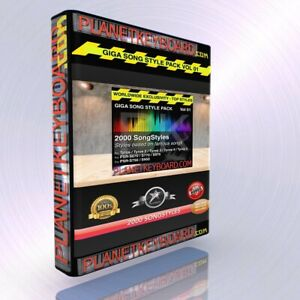 GIGA-PACK-VOL-01-2000-SONGSTYLES-SONG-STYLES-POUR-YAMAHA-GENOS-TYROS-5-PSR-SX900