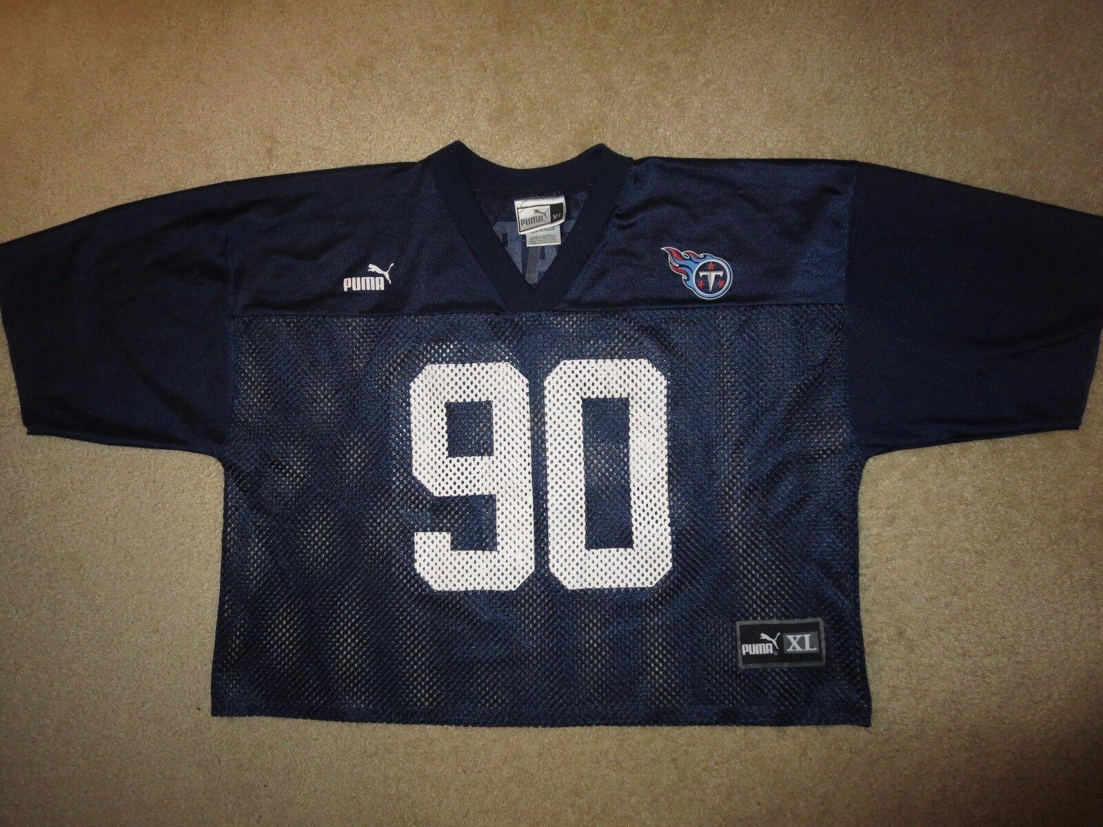 Tennessee Titans NFL Práctica Campo Kearse Puma Jersey Juego XL