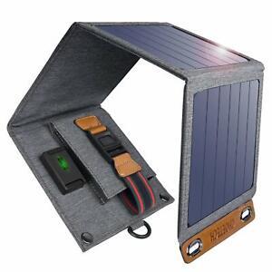 Cargador Solar choetech, 14W Portátil Solar Panel Solar Cargador Para...