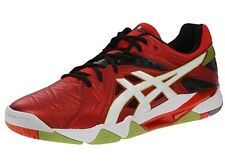 New Asics B502Y.2101 GEL Cyber Red / White Men's Volleyball Shoes Size 6.5 US