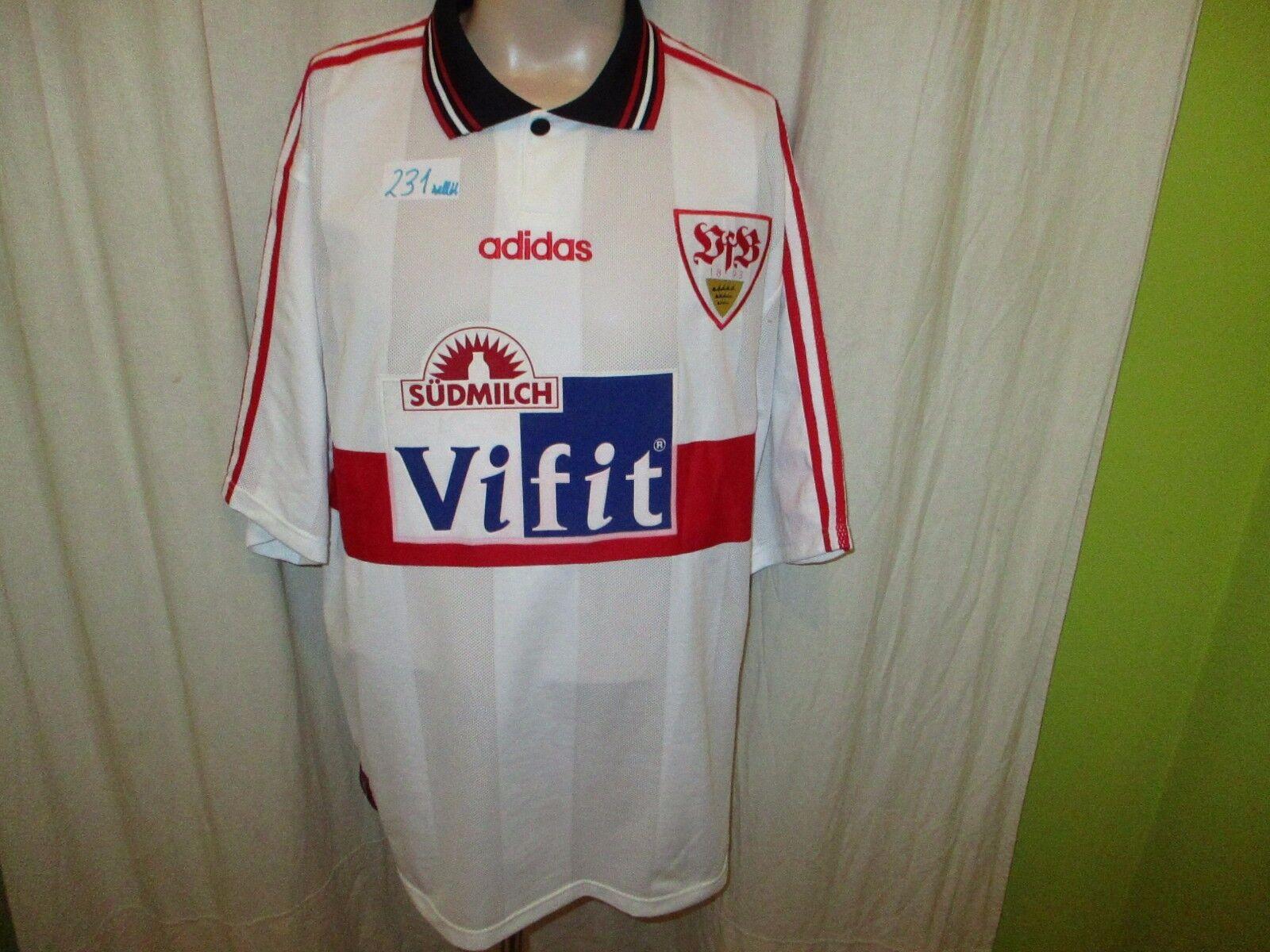 VFB Stuttgart Original Adidas Jersey 1996 97  ViFit südmilch  + No 10 Größe XXL