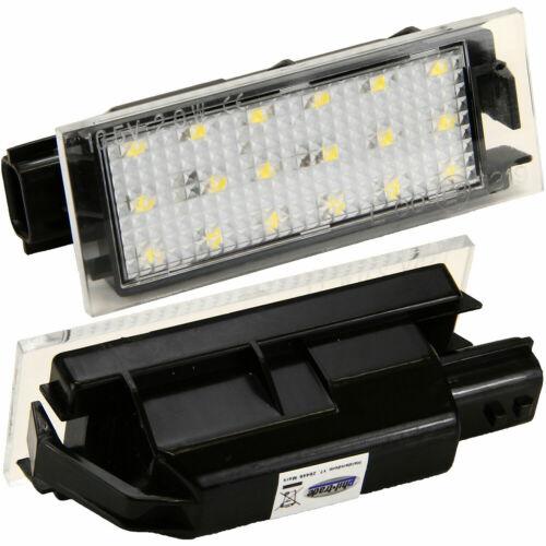 LED Kennzeichenbeleuchtung für MERCEDES CITANSMART Coupe Cabrio 453 7224