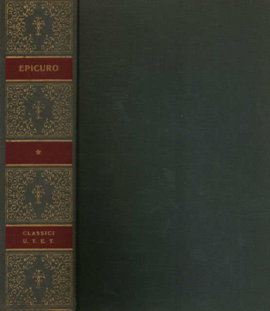 Opere di Epicuro - Epicuro (Unione Tipografico-Editrice Torinese) [1974]