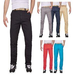 Surplus-Raw-Vintage-Herren-Designer-Chino-Stoff-Hose-2-0-Chinohose-Regular-Fit