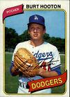 1980 Topps Burt Hooton #170 Baseball Card