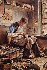 564095 The Shoemaker Jefferson David Chalfant A4 Photo Print