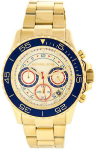 98ed0587b636 Image is loading Michael-Kors-Everest-Chronograph-MK5792-Wrist-Watch-for-