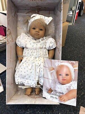 Top Zustand Clearance Price Annette Himstedt ⭐️⭐️ Puppe Ännchen 56 Cm ⭐️⭐️ Ovp & Zertifikat