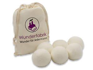 Trocknerbälle trocknerkugeln soft echte neuseeland wolle ebay