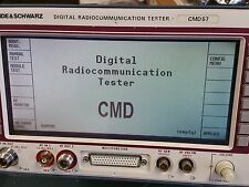 Rohde Amp Schwarz Cmd 57 Digital Communication Tester With Options
