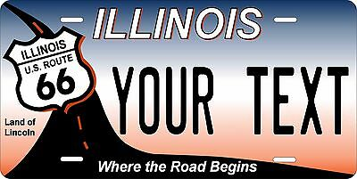 Illinois 2004 Lincoln Personalized Custom License Plate Car Motorcycle Bike