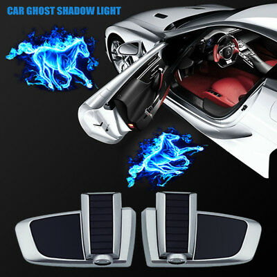 Wireless Car Door Led Welcome Laser Projector Logo Flame Horse Shadow Lights