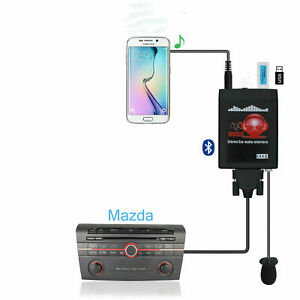 Aux-In-3-5mm-adapter-Bluetooth-Interface-USB-Iphone-For-Mazda-M6-Premacy-RX-8