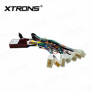 Details about Car Stereo Radio ISO Wiring Harness Connector Adaptor on