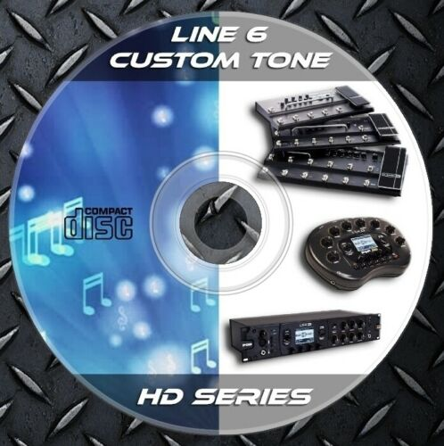 Tones 161.253 Patches Line6 POD HD Desktop,Pro,Pro X,HD300,HD400,HD500,HD500X