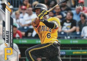 Starling Marte 2020 Topps Series 1 #183 Pirates   Baseball Card