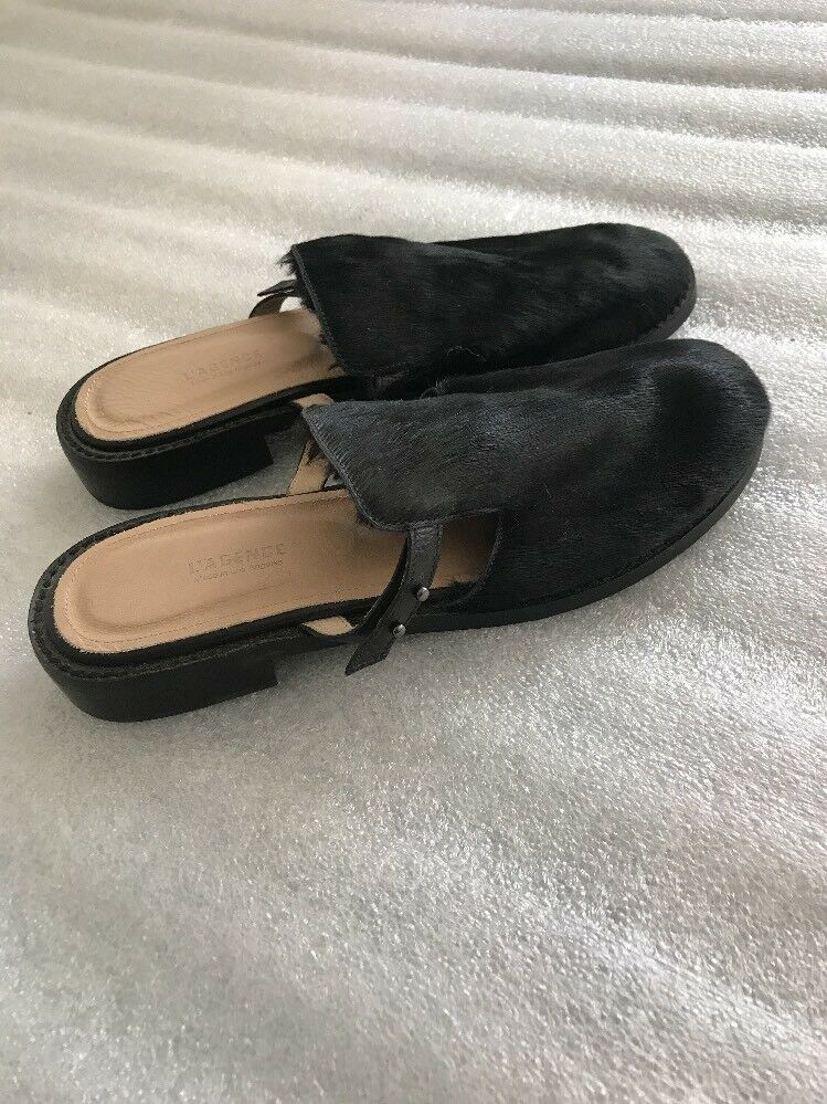 L'agence Calf Sz Woman Sandales, Fur Cow Mules Schuhes New Sz Calf 8,5 US a963f5