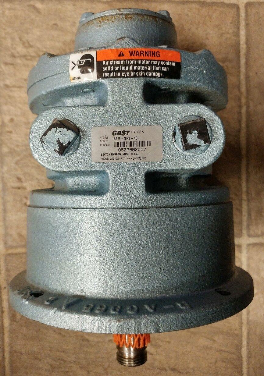 GAST 8AM-NRV-43 Worm Geared Motor (494)