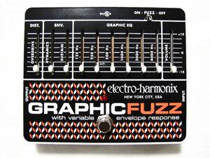 Used Electro-Harmonix EHX Graphic Fuzz EQ Distortion Sustainer Guitar Pedal