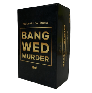 BANG WED MURDER Fun ADULT PARTY GAME Age 17+