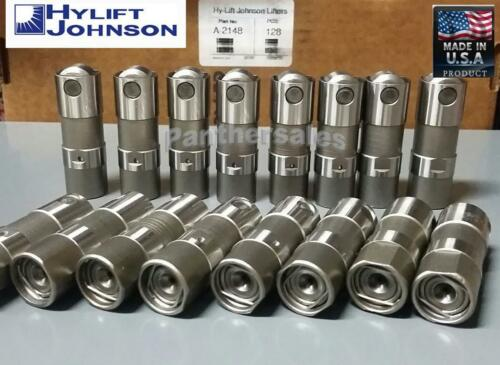 HYLIFT Hydraulic Roller Lifters Set 16 for Chevy 5.3 5.7 6.0 LS1 LS2 LS7 US-MADE