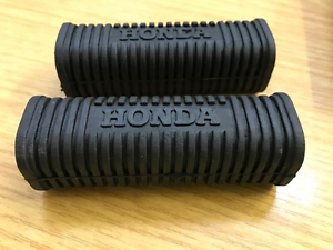 Pair Honda Dream Rear Foot Peg Rubbers CA77 CA72  Rubber New