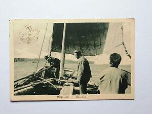 AK-Helgoland-Duenenfaehre-Faehre-1925-gelaufen