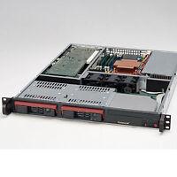 1HE 19 Zoll Rack Server CSE-811 • Dual Core 1.80 GHz • 2GB RAM • 2 x 250GB HDD
