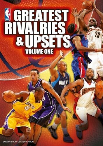 1 of 1 - NBA - NBA's Greatest Rivalries And Upsets : Vol 1 (DVD, 2011)-REGION 4-FREE POST