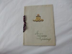 Image Is Loading WW2 ERA ROYAL ENGINEERS BIRTHDAY CARD