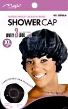 MAGIC Shower Cap BLACK X - Large Size One Size Fit All 2160BLK