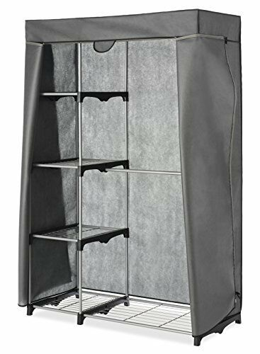 New Cover Only For Whitmor Double Rod Closet Gray Free Shipping