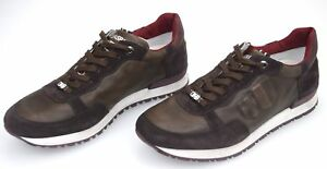 D-039-ACQUASPARTA-MAN-SNEAKER-SHOES-CASUAL-FREE-TIME-LEATHER-SUEDE-OLIMPIC-U310-PBR