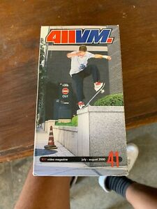 Details about 411 Video Magazine 411VM #41 Videos VHS 2001 Vintage Skate  Videos 1990s